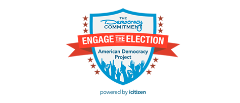 Engage The Election - web banner