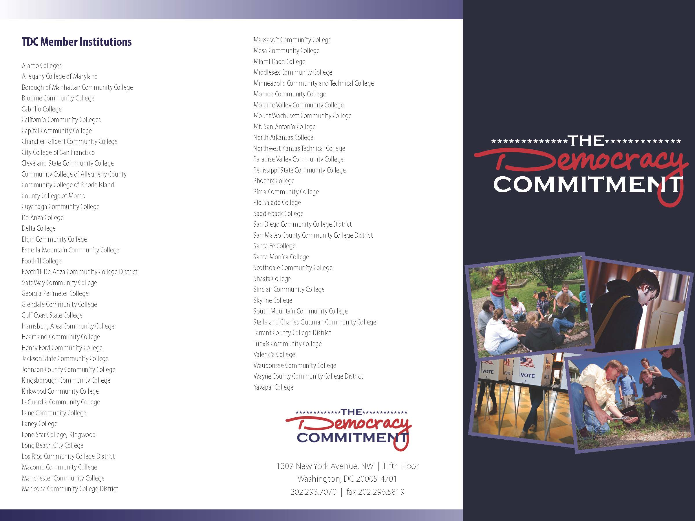 TDC Brochure